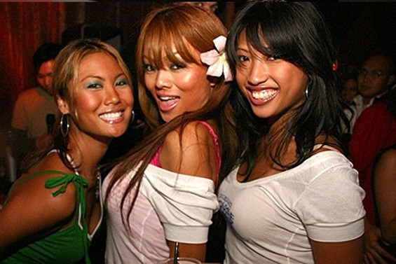 Pussycat Dolls: typical Whisper Lounge patrons