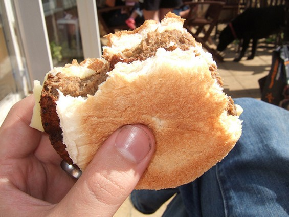 Put down that Quorn burger, vegans, and just walk away: It contains egg whites. - BEN SUTHERLAND/FLICKR