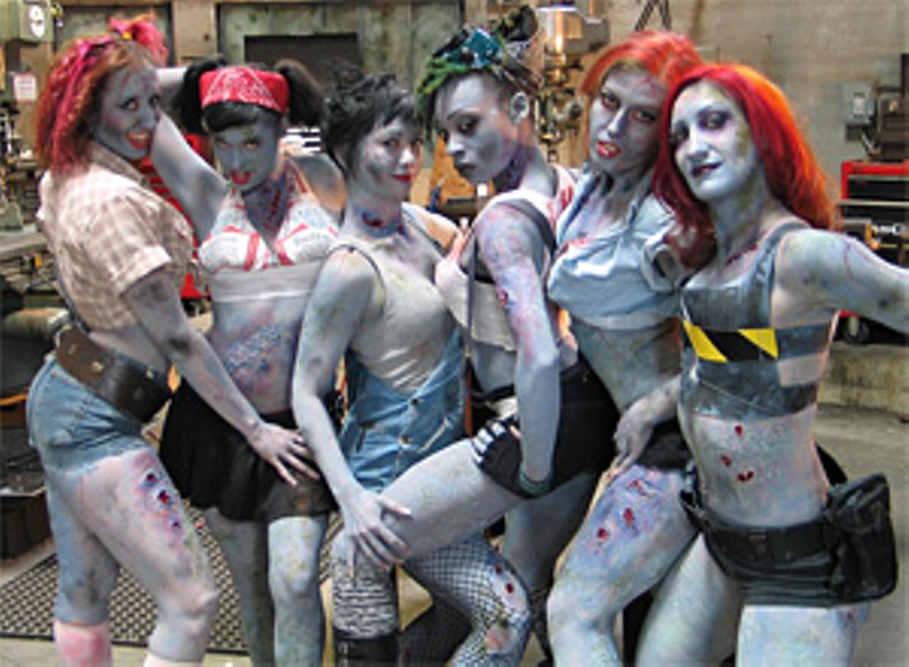 Zombie girl tits porncraft pics