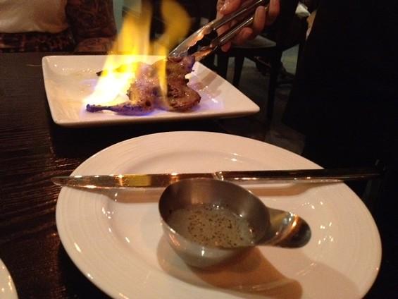 Quail is ignited at Le Soleil. - TAMARA PALMER