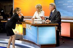 Rachel McAdams, Diane Keaton, and Harrison Ford hardly make high screwball.