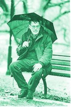"COURTESY OF THE SUNDAY STAR - ""Rain is rain in my poetry,"" Robert Creeley once said of his emotionally ambiguous verse."