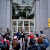 WikiLeaks Supporters Rally in San Francisco