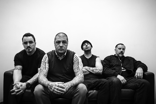 Rancid, swelling with East Bay pride.