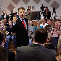 Rand Paul Tries to Disrupt SF Liberalism