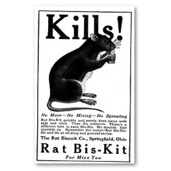 Rat Poison Is Not Good For You