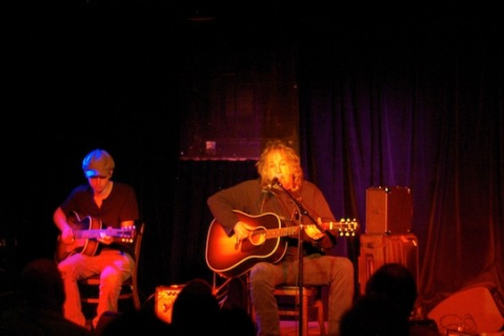 Ray Wylie Hubbard at Cafe Du Nord last night.