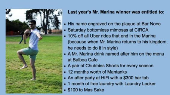 Real winner - VIA MR.MARINA COMPETITION