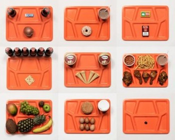 Recreations of condemned inmates' actual last meal requests - JAMES REYNOLDS/LAST SUPPERS