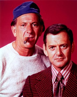 References to The Odd Couple may date us, but we're going for it anyway