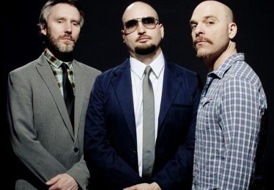 Reid Anderson, Ethan Iverson, and Dave King (L-R) are the Bad Plus