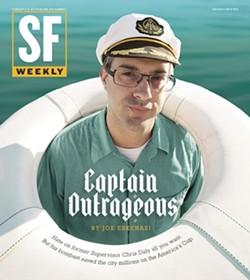 Rejected headline: Captain Asshole