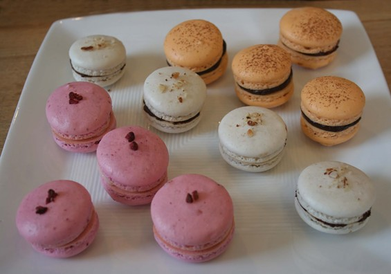 Remy Lemoine's macarons ― they'll be for sale at SFoodie's One Love bake sale tomorrow. - COOKING WITH REMY