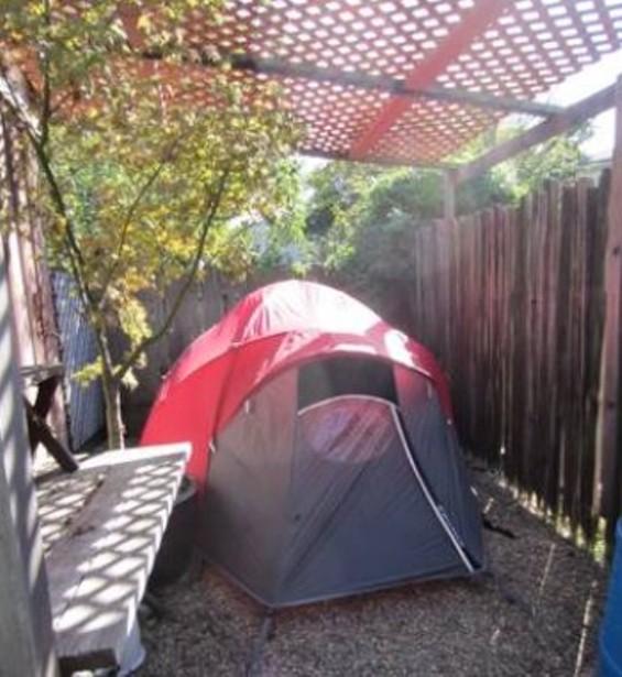 Rent a tent! - WORST ROOM