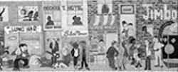 Representative or racist? A section of Krouse's mural plan.