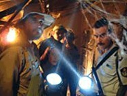 GRANT  MARSHALL - Residents of a small fishing town confront a - zombie invasion in Undead.