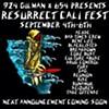 Resurrect Cali Announces Initial Lineup