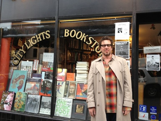 Richard Hell at City Lights Bookstore - COURTESY OF LAYLA GIBBONS