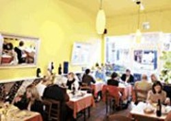 ANTHONY  PIDGEON - Ristorante Ideale was ideal for our - purposes.