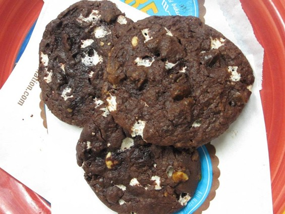 "Rocky road cookies, part of the ""secret"" menu at C.R.E.A.M. - C.R.E.A.M."