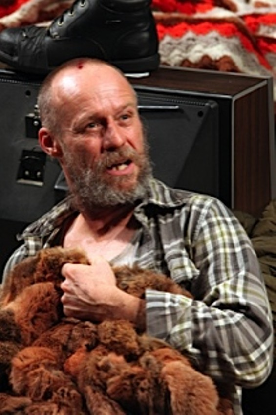 "Rod Gnapp as Dodge in""Buried Child"" at the Magic Theatre - PHOTO:JENNIFER REILEY"