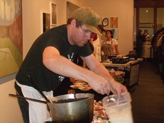 Roger Feely of Soul Cocina plans to be there with Thanksgiving sides and desserts. - TAMARA PALMER