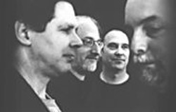 Rova Saxophone Quartet.