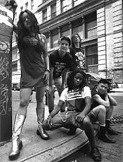 SAM  LAHOZ - Rrrock On: Tribe 8 plays Ladyfest  Bay Area. See  Pop - Philosophy.