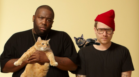 Run the Jewels, with cats.