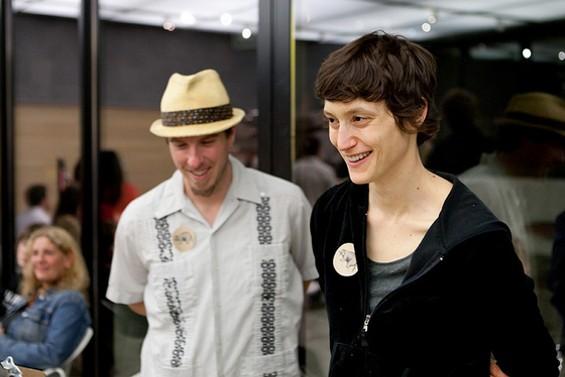 Ryan Ostler and Katharine Zacher. - MEATPAPER/FLICKR