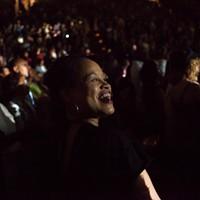 Sade and John Legend at the Oracle Arena
