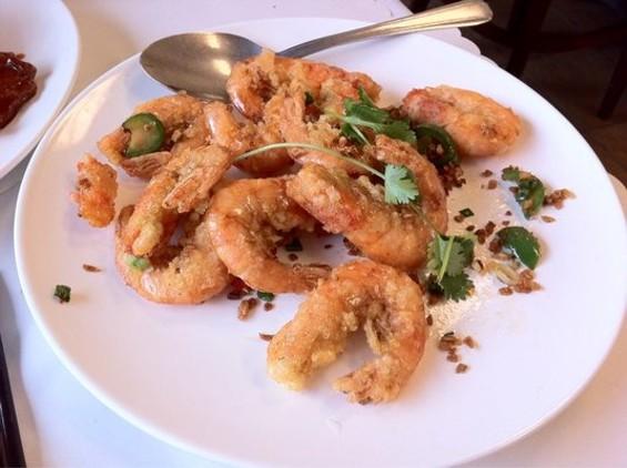 Salt and pepper prawns at Brother Seafood Restaurant. - VIVIAN H./YELP