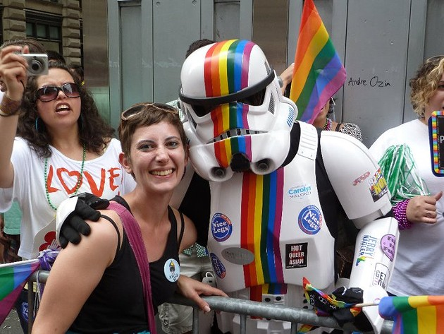 NYC Pride 2011, days after New York State legalized same-sex marriage. - PETE KANE