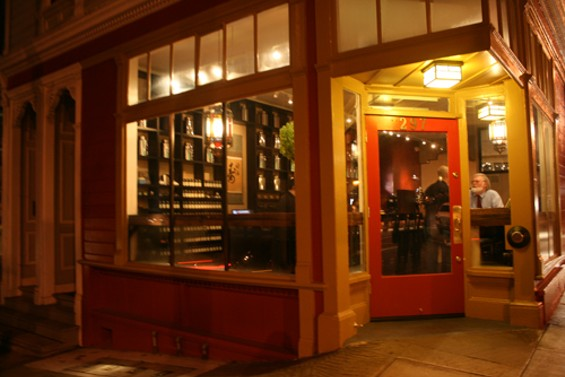 Samovar's third SF location is built into a Hayes Valley Victorian. - JANINE KAHN