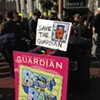 <i>San Francisco Bay Guardian</i> Holds Rally to Protest Paper's Closure