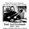 "Ted Gullicksen: You're Invited to ""Renter Hero's"" Memorial On Sunday"