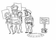 "San Francisco may be free of  ""free speech zones"" soon. - FRED NOLAND"