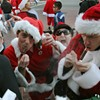 Santa Flash Mobs, and 'I Am Legend': Your Monday Morning Hangover