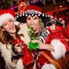 SantaCon: Many Santas and a Snowball Fight