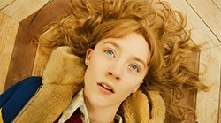 Saoirse Ronan is engagingly hyperexpressive for a dead 14-year-old.