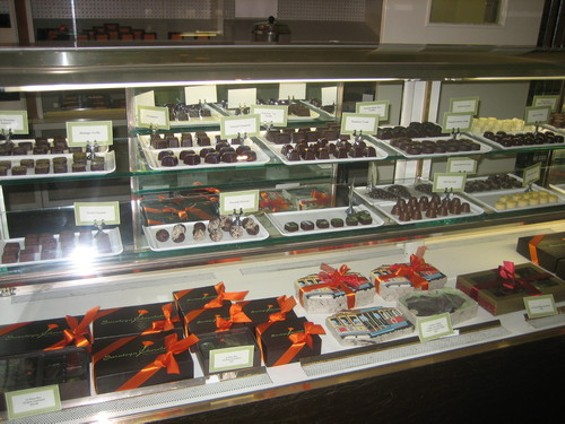 Saratoga Chocolates has a very Schmidt-like presence. - M. LADD