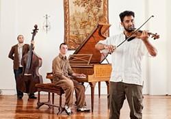 FRANK GAGLIONE - Sascha Jacobsem, Tibor Szabo, and Charith Premawardhana at Salle Pianos.