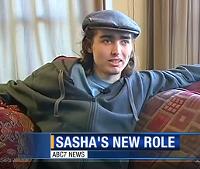 Sasha Fleishman is home - SCREEN-GRAB VIA ABC NEWS