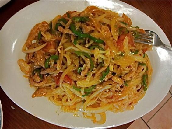 Sauteed handmade noodles - PETE KANE