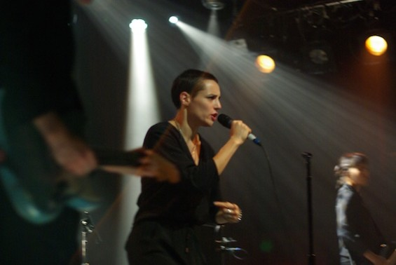 Savages at the Independent last night.