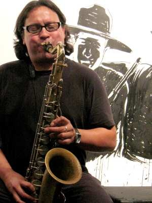 Saxophonist and composer Phillip Greenlief will perform during 24-Hour Drone.