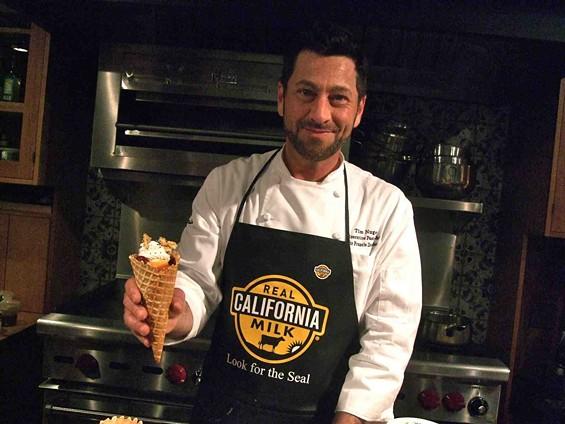 Scala's Bistro pastry chef Tim Nugent. - TAMARA PALMER