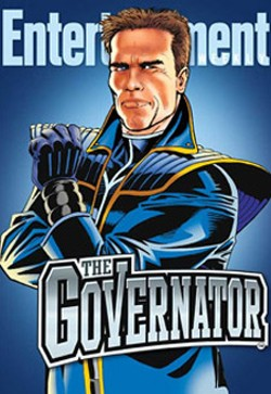 Schwarzenegger will use his alter-ego to take on the state's Democrats