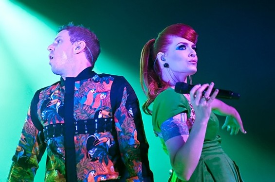 Scissor Sisters at the Fox Oakland last night. - SUGARWOLF