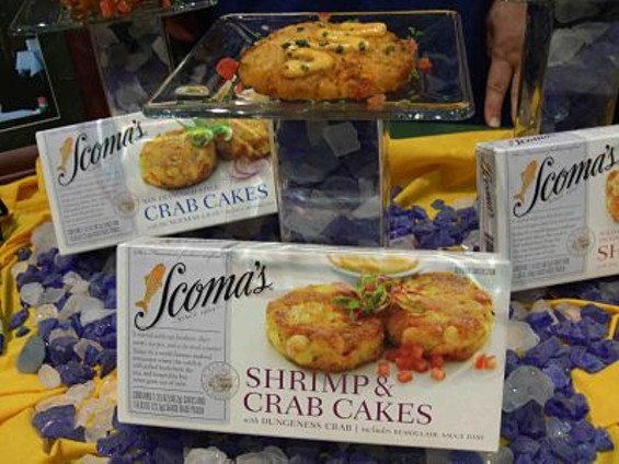Scoma's Crab Cakes: Pass 'em off as your own. - T. PALMER